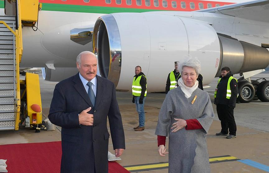 Президент Беларуси прибыл с официальным визитом в Австрию