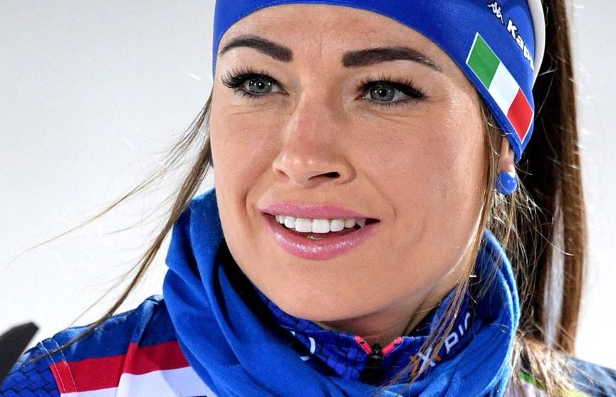 Доротея Вирер выиграла общий зачёт Кубка мира по биатлону
