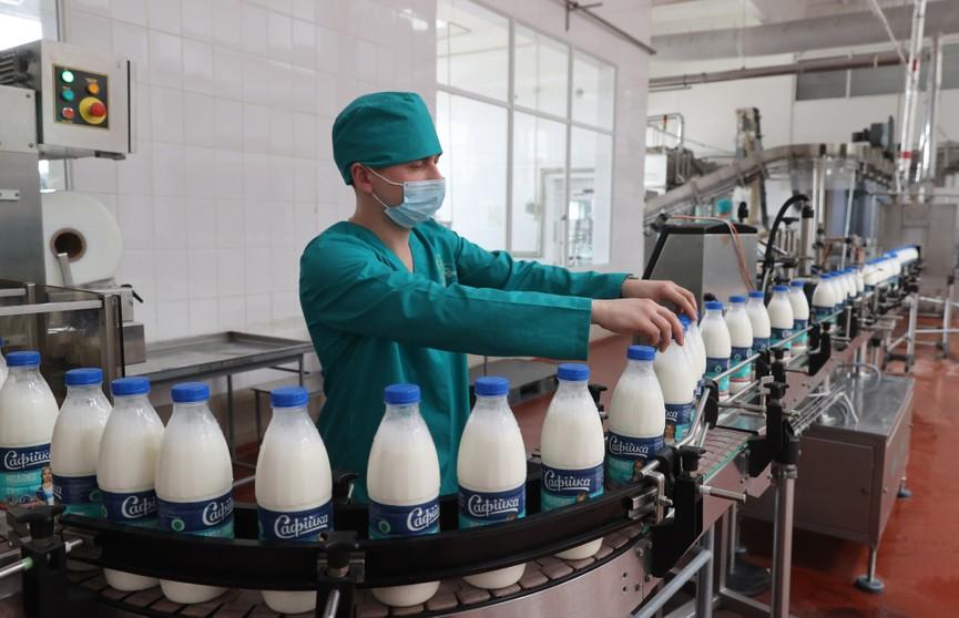 «Тот результат, который должен был быть, пока мы его не увидели»: Кочанова посетила Полоцкий молочный комбинат