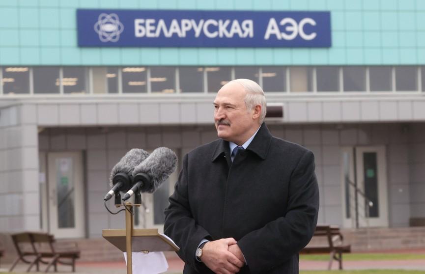 Лукашенко рассказал о необходимости второй АЭС, отношении к санкциям ЕС и выборам в США