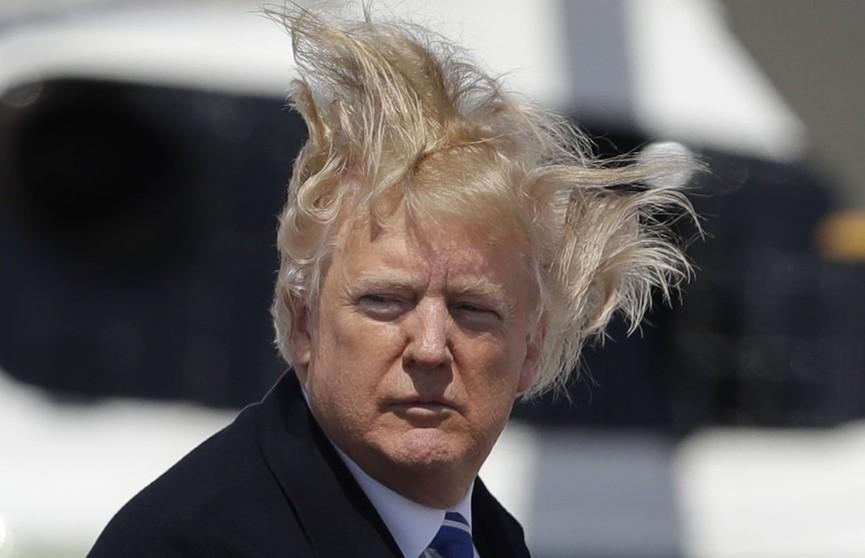 Лучше, чем у большинства друзей. Трамп похвастался своими волосами