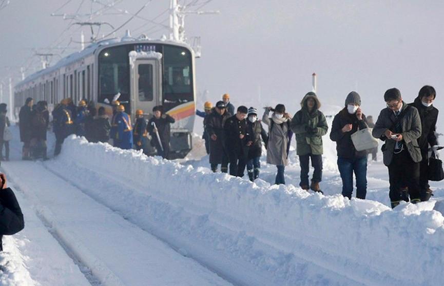 9 тыс. домов остались без электричества из-за снегопада в Японии