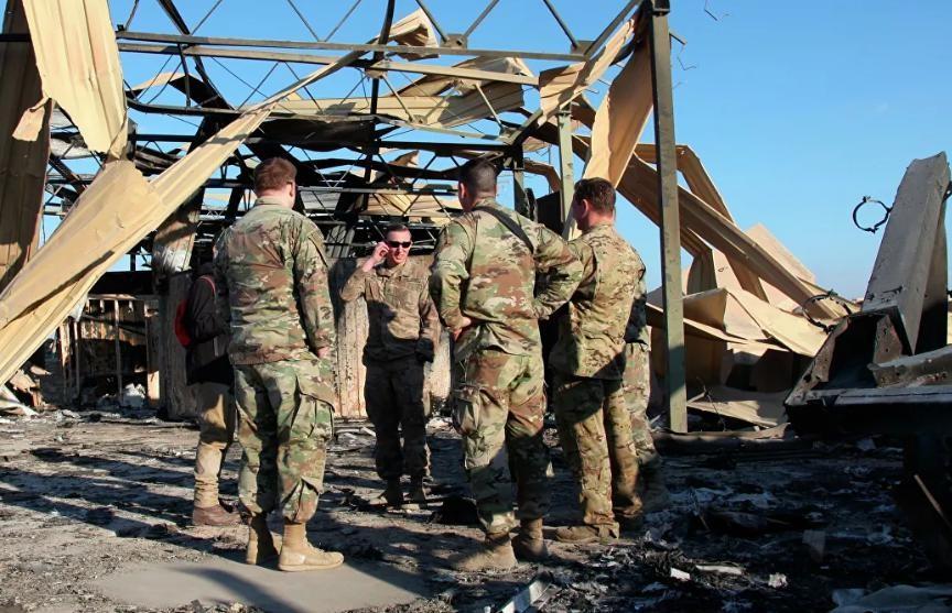 Американская база в Ираке подверглась ракетной атаке