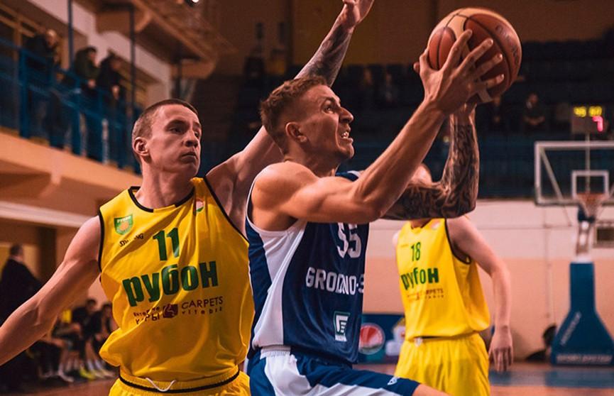 Баскетболисты «Рубона» завоевали бронзовые медали розыгрыша Кубка Беларуси