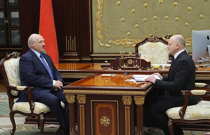 Лукашенко провел рабочую встречу с председателем КГК