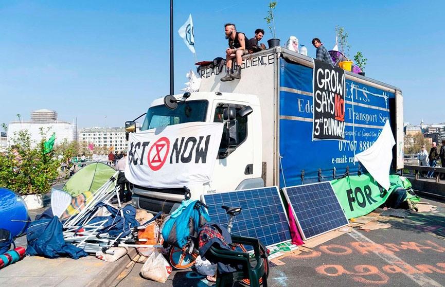 Полиция Лондона задержала более 750 экологических активистов