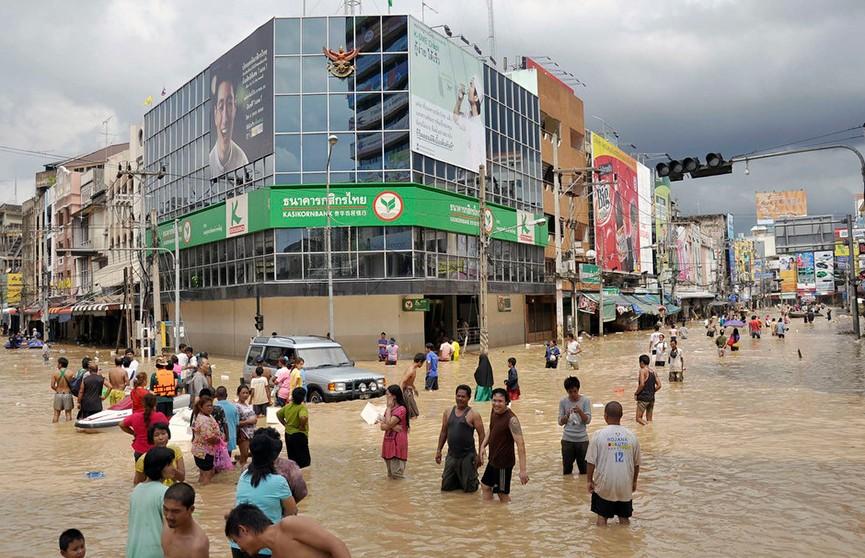 Девять провинций затопило в Таиланде