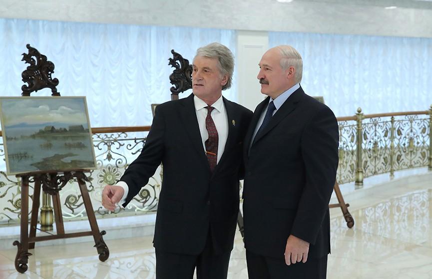 Судьба Киева всегда будет небезразлична Минску: Александр Лукашенко встретился с Виктором Ющенко