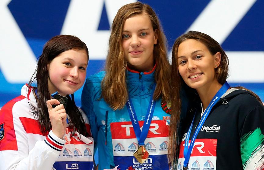 Белоруска Анастасия Шкурдай завоевала золото чемпионата Европы по плаванию среди юниоров