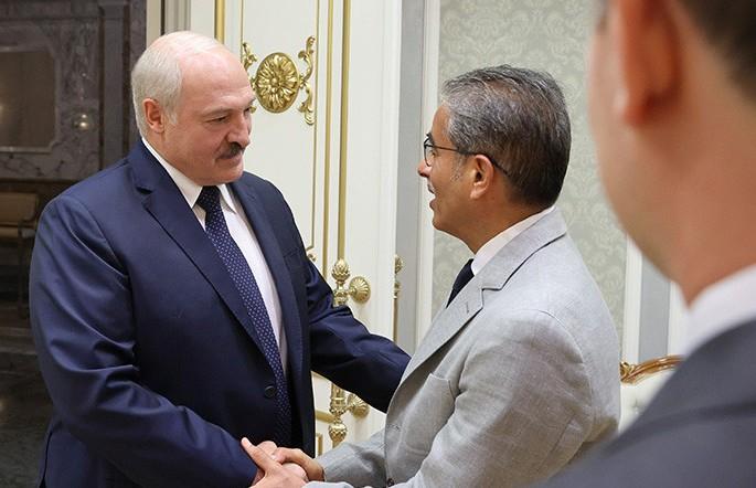 «В сложные времена вы поддерживали Беларусь». Александр Лукашенко встретился с инвестором из ОАЭ Мухаммедом аль-Аббаром