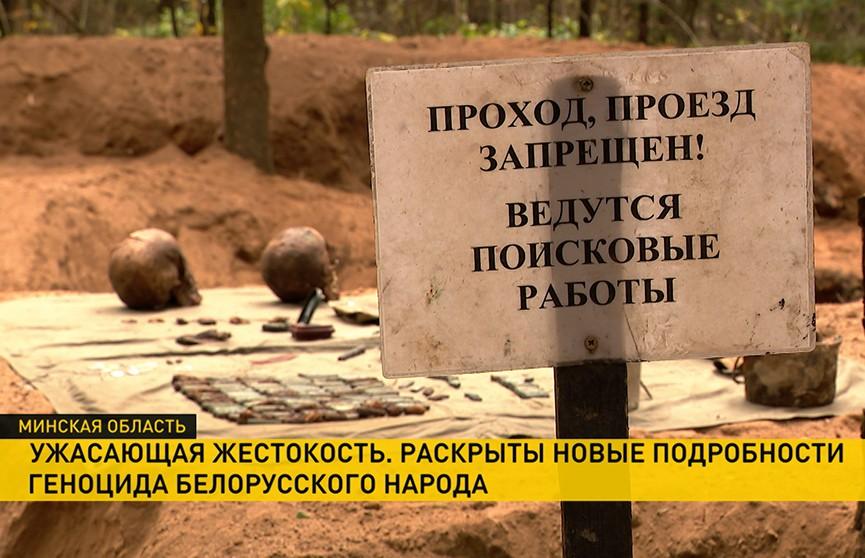 В Беларуси разрабатывается законопроект о признании геноцида белорусского народа