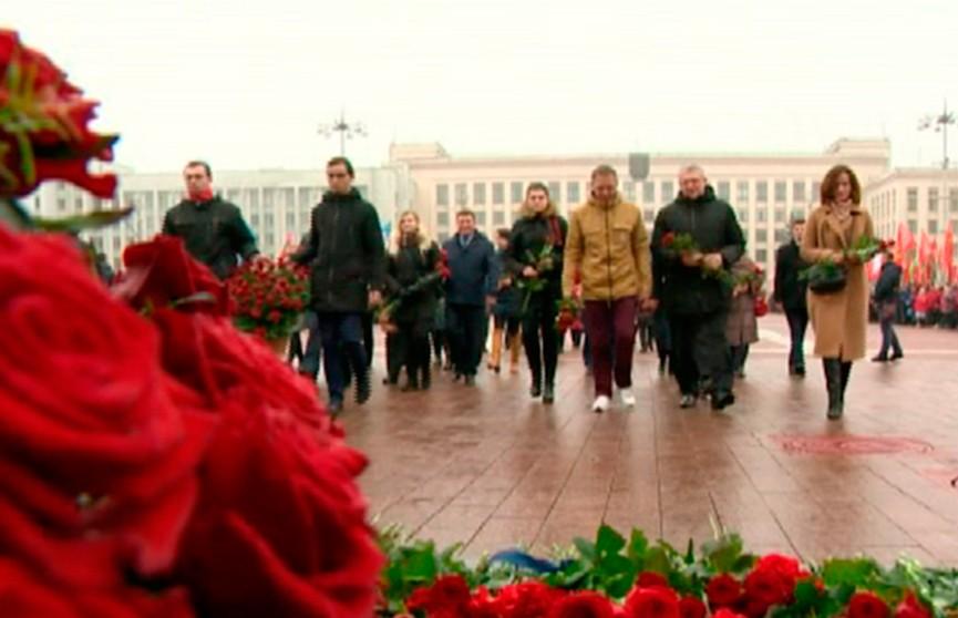 Беларусь отметила очередную годовщину Октябрьской революции