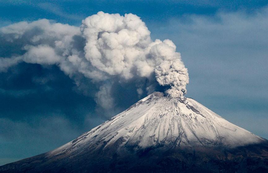 Извержение крупного вулкана произошло в Мексике