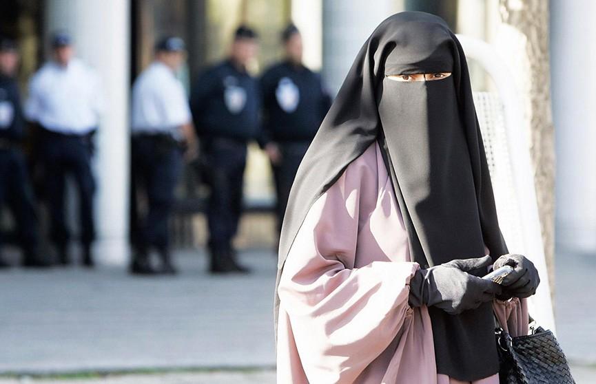 Датская полиция впервые выписала женщине-мусульманке штраф за ношение никаба