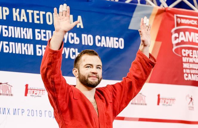 Тимофей Емельянов завоевал бронзу в самбо для Беларуси на II Европейских играх