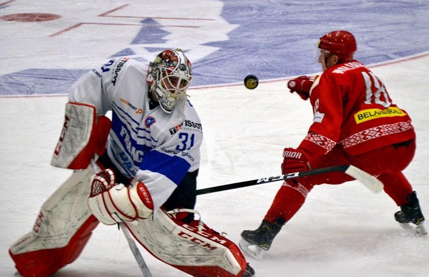 Сборная Беларуси по хоккею проиграла французам на товарищеском турнире в Норвегии