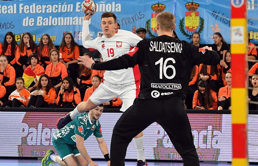 Гандболисты сборной Беларуси с победы стартовали на международном турнире в Испании