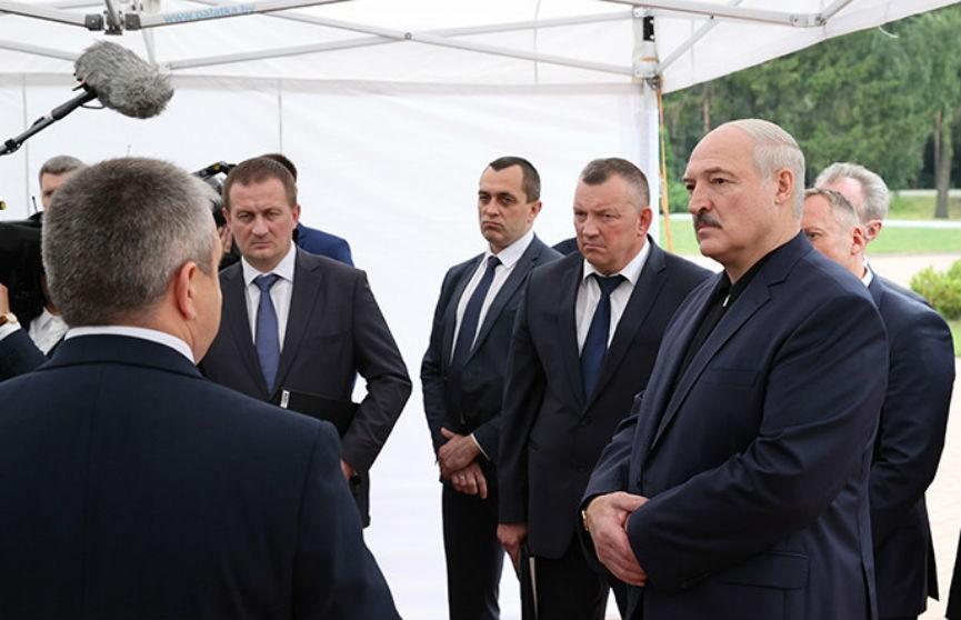 Лукашенко положительно отозвался об агрокомбинате «Дзержинский»