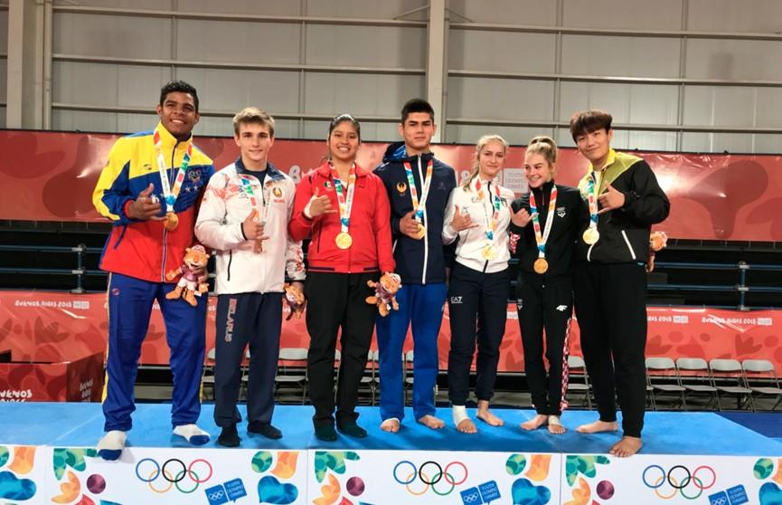 Белорусские спортсмены завоевали пять медалей на Юношеских Олимпийских играх
