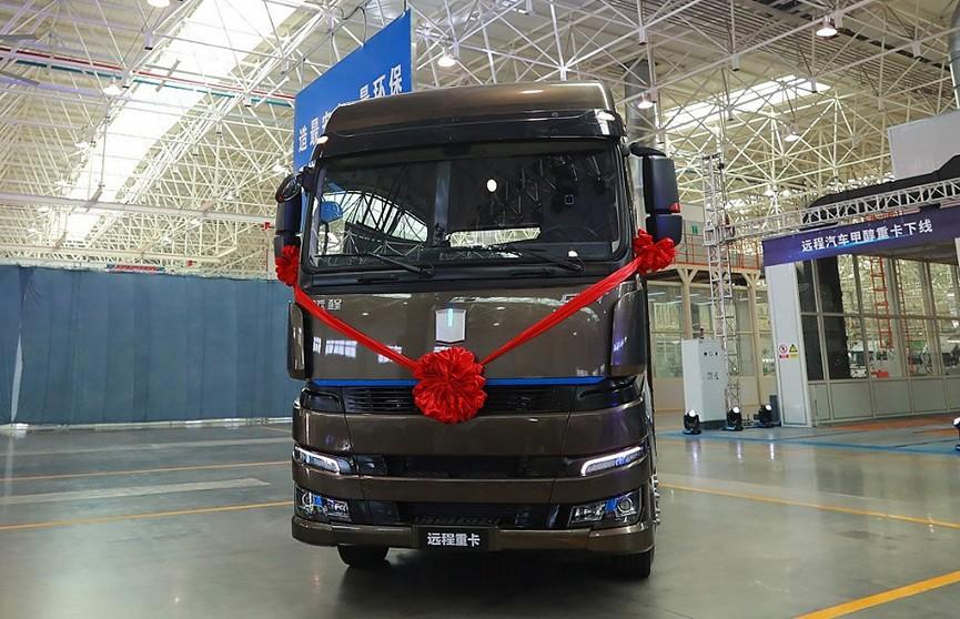 Geely представила грузовик на метаноле
