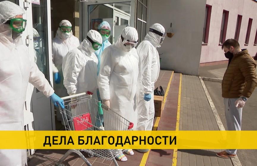 В Беларуси на передовой борьбы с коронавирусом – 25 тысяч медиков. Помочь им может каждый!