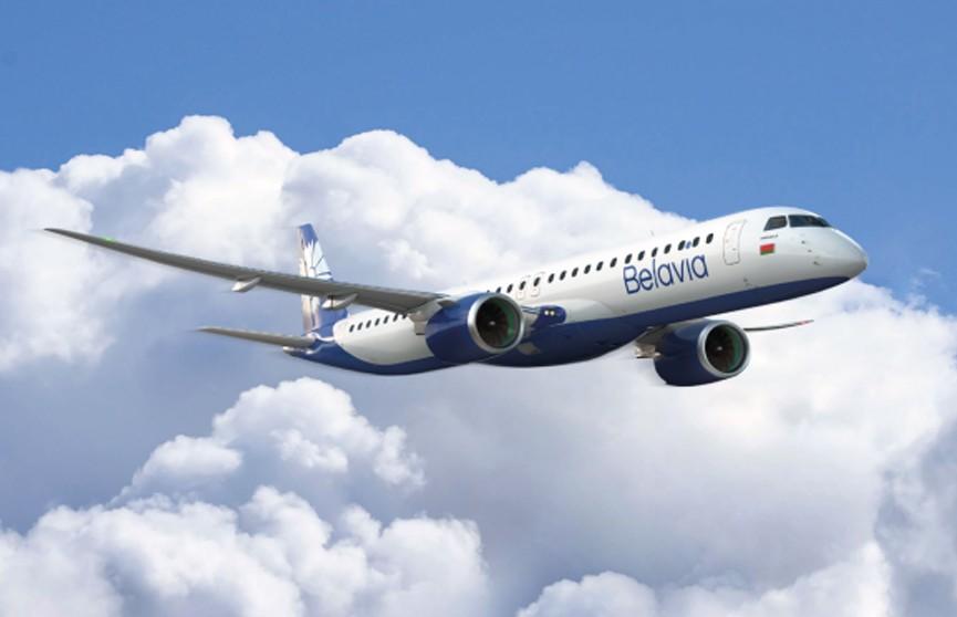 «Белавиа» получила новый самолет Embraer