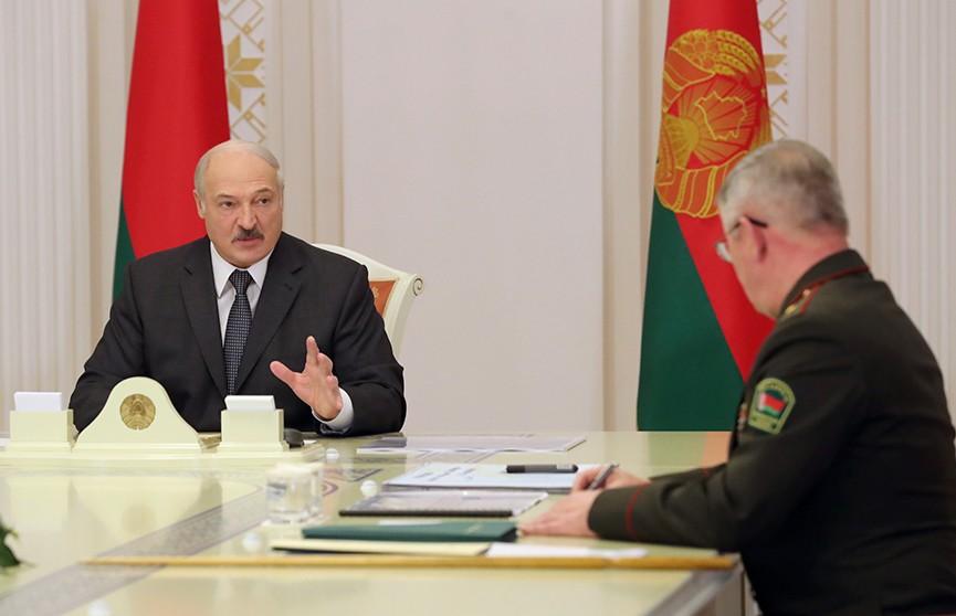 Александр Лукашенко: Увеличение численности пограничников связано с обеспечением национальной безопасности