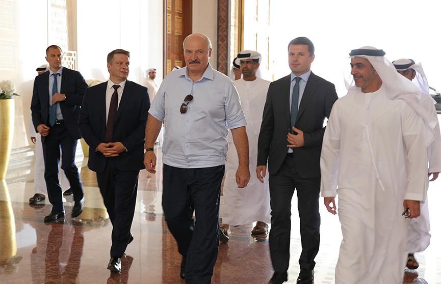 Итоги визита Лукашенко в ОАЭ