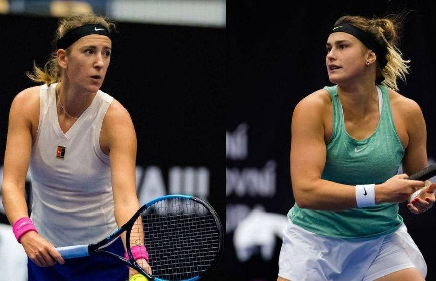 Азаренко и Соболенко встретятся в финале на теннисном турнире в Остраве