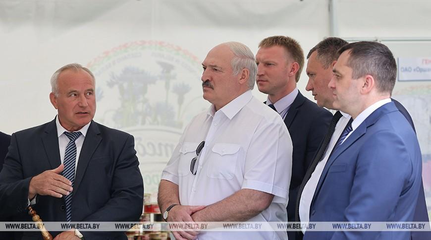 Лукашенко о развитии Оршанского района: Ответите за каждый квадратный метр