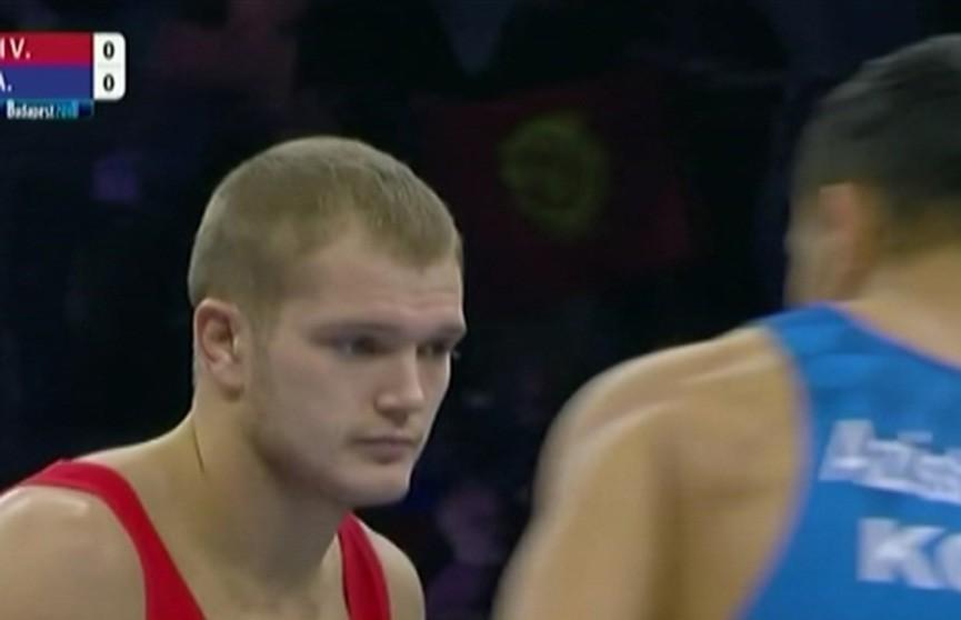 Белорусские борцы продолжают успешное выступление на чемпионате мира в Будапеште