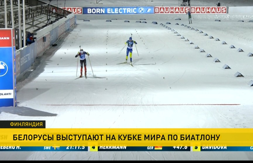 Кубок мира по биатлону: Сергей Бочарников стал 13-м в мужском спринте