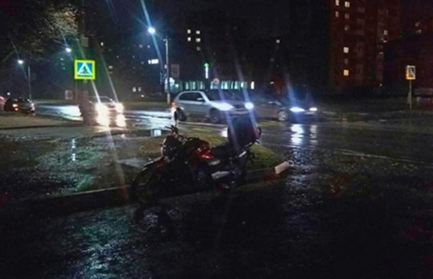 ДТП в Пинске: мотоциклист сбил на «зебре» пешехода