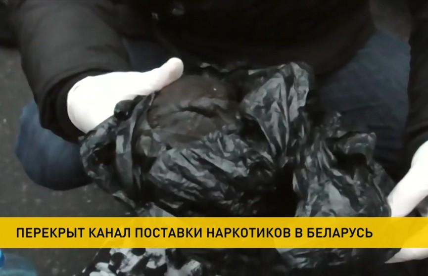 Канал поставки наркотиков из России перекрыли пограничники в Мозыре