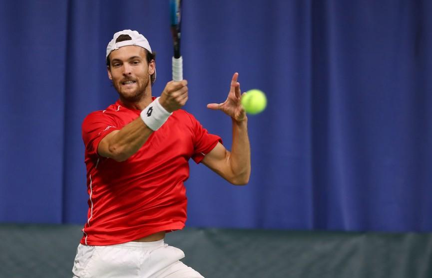 Белорусский теннисист Егор Герасимов вышел в 1/8 финала турнира в Марселе