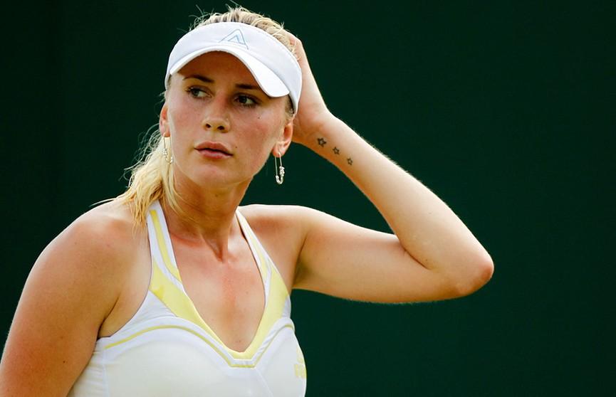 Ольга Говорцова покидает турнир в Монтеррее