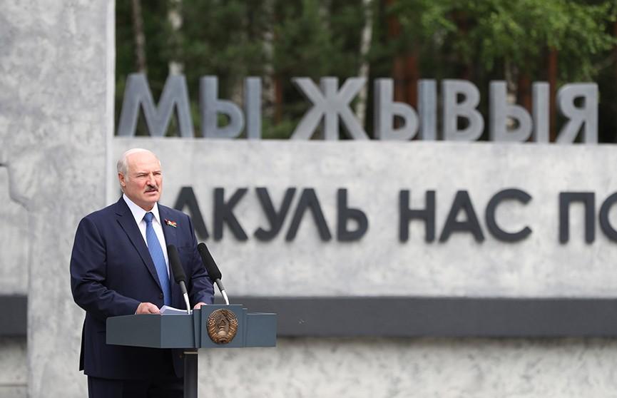 Лукашенко на открытии мемориального комплекса «Ола»: Пусть все приезжают и посмотрят, каким духом крепок белорусский народ