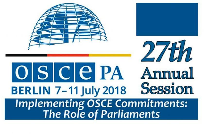 Беларусь принимает участие в сессии Парламентской ассамблеи ОБСЕ