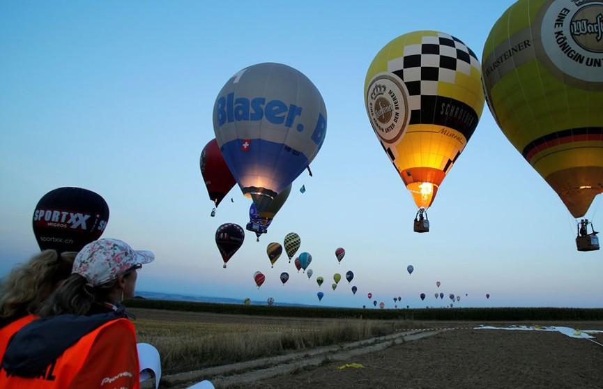 Чемпионат по воздухоплаванию в Австрии собрал команды из 38 стран