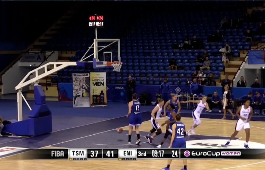 Победителем женского чемпионата Беларуси по баскетболу стала команда клуба «Цмокi-Мiнск»