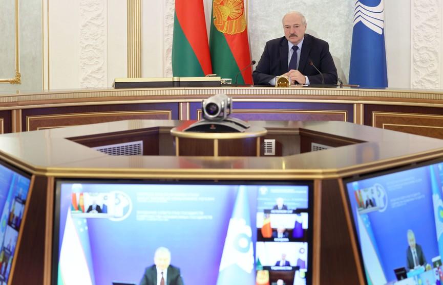 Интеграция как необходимость: Александр Лукашенко представил инициативы Беларуси на саммите лидеров СНГ
