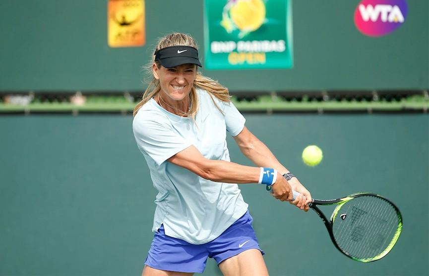 Азаренко вышла во второй раунд турнира в Монтеррее