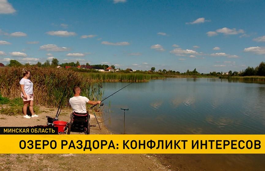 В Столбцовском районе озеро стало предметом раздора. На чьей стороне правда?