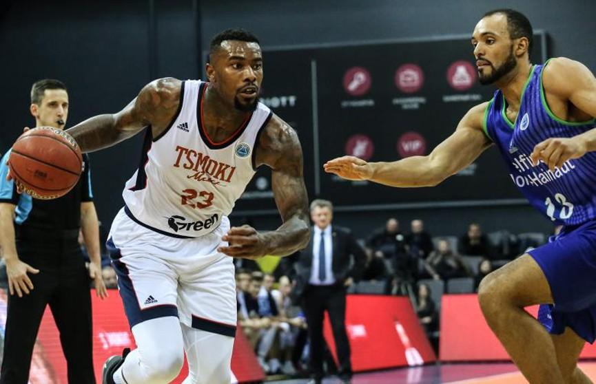 Баскетбол: «Цмокі» взяли верх над бельгийским «Белфиусом» в Кубке FIBA