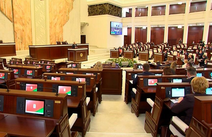 Белорусский парламент. История шестого созыва