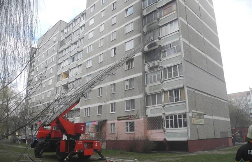 Семь человек эвакуировано из-за пожара в жилом доме в Гомеле