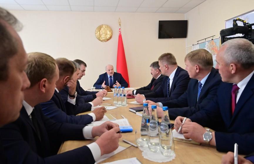 Александр Лукашенко собрал в Брагине совещание по возрождению чернобыльских земель