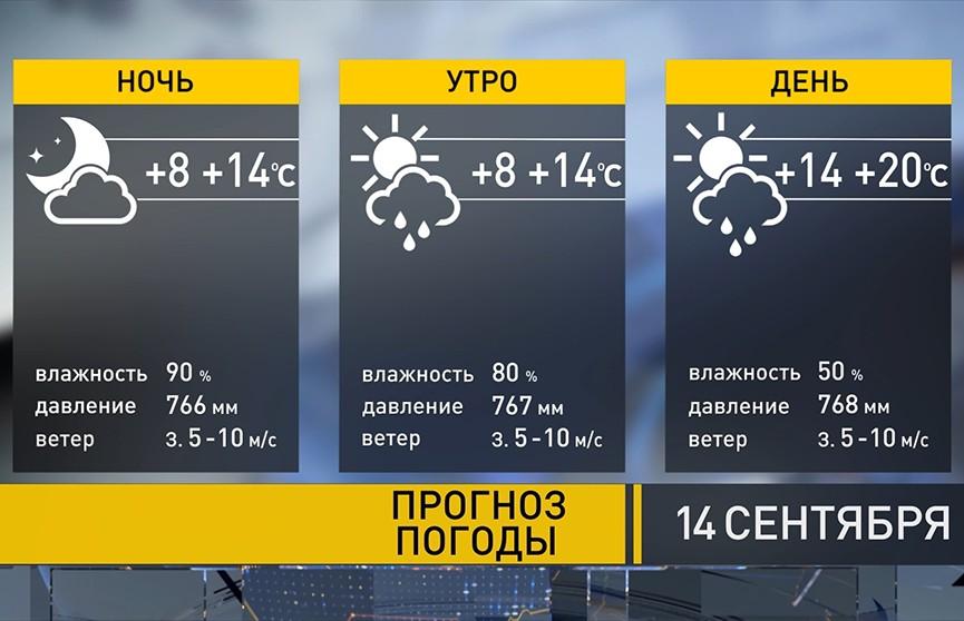 Прощаемся с летом? Прогноз погоды на 14 сентября