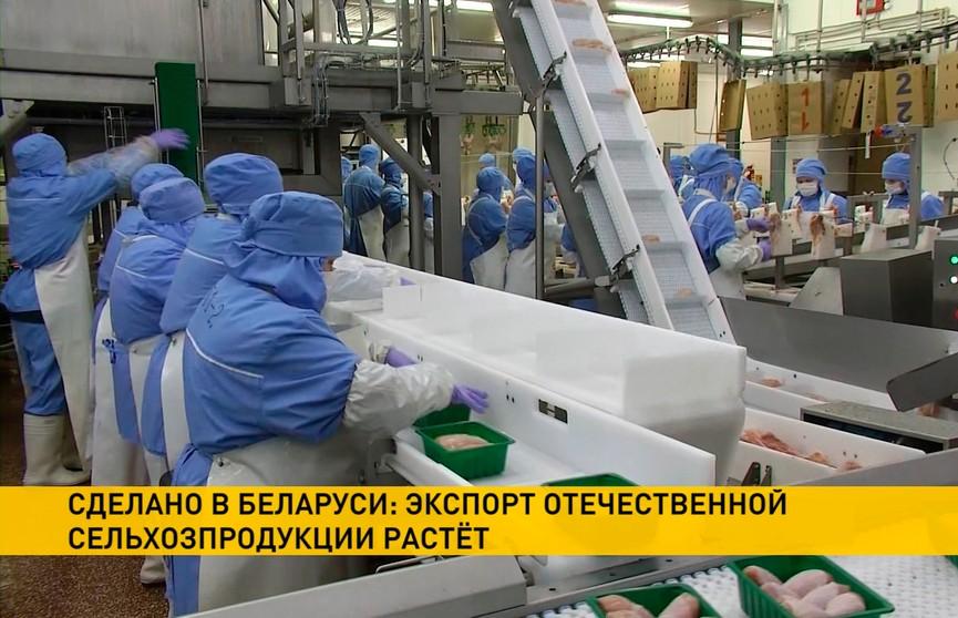 По итогам первого полугодия Беларусь экспортировала сельхозпродукции на $2,5 млрд