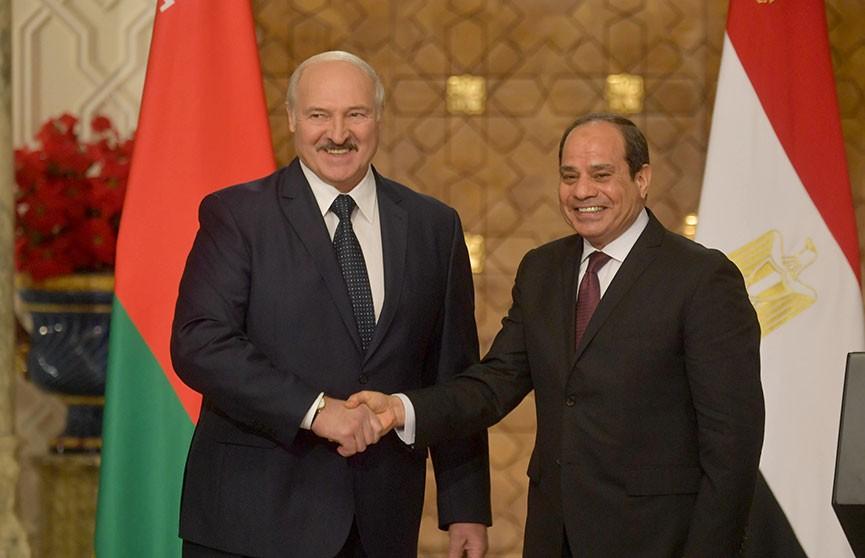 Энергетика, промышленность, инвестиции. Какие еще точки соприкосновения нашли Беларусь и Египет?